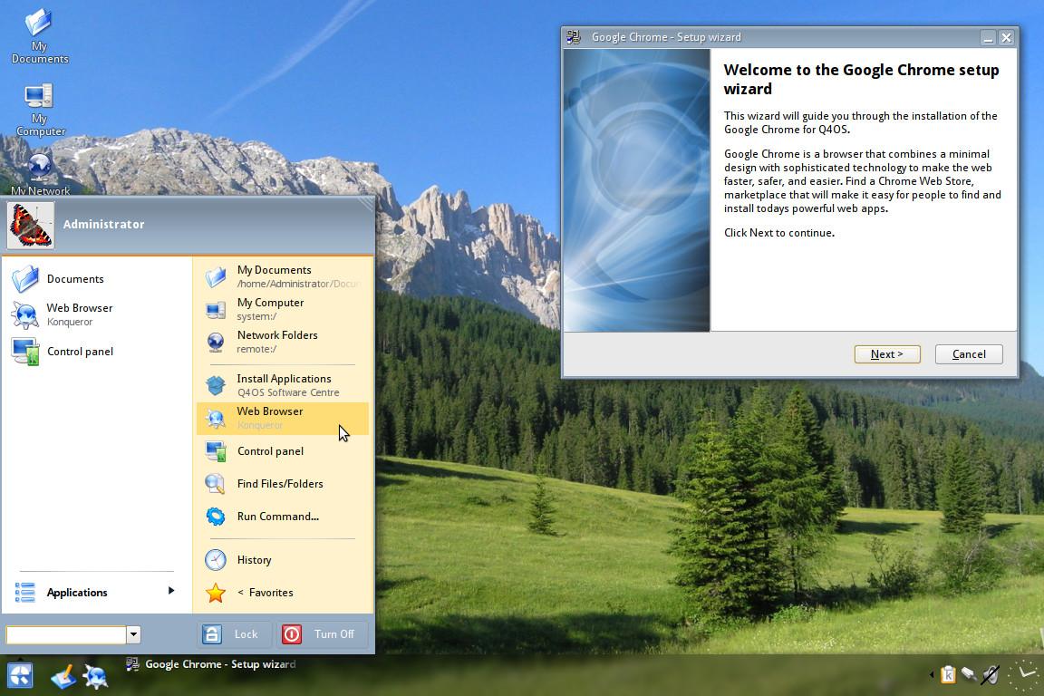 Q4OS - PC pocos recursos Image2
