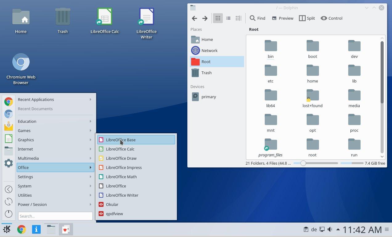 Desktop Q4OS