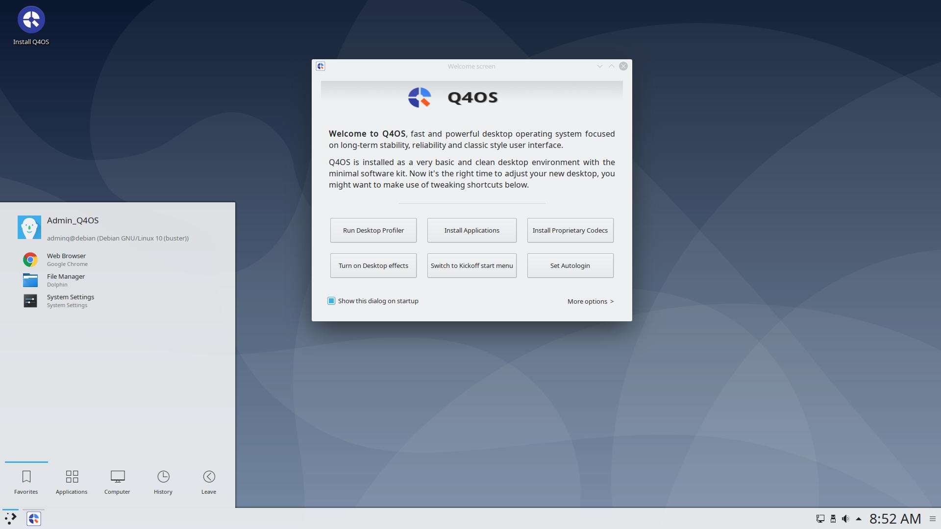 Q4os Desktop Operating System